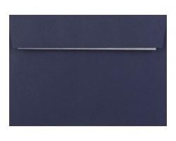 Barevná obálka s krycí páskou tmavě modrá