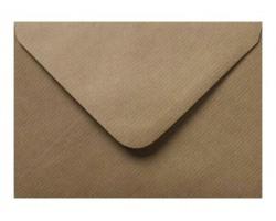 Poštovní obálka světlehnědá vroubkovaná
