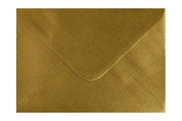 Poštovní obálka zlatá