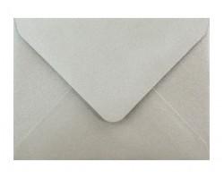 Metalická (perleťová) obálka stříbrná