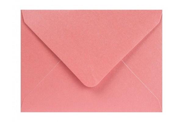 Metalická (perleťová) obálka růžová