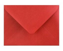 Metalická (perleťová) obálka červená
