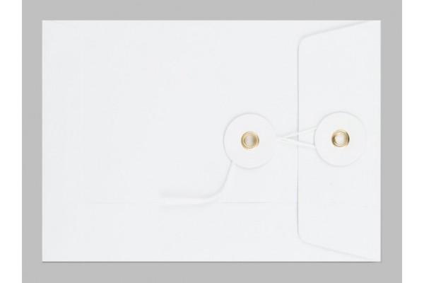Obálka se šňůrkou kapacitní bílá