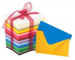 Barevné poštovní obálky (obyčejné)